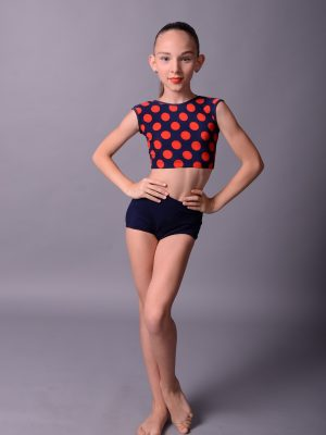Топ TOP_15 P Navy/Red