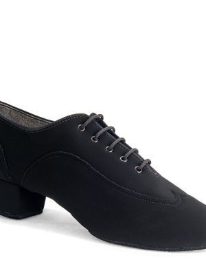 Мужская латина - турнирные International JONES - BLACK NUBUCK
