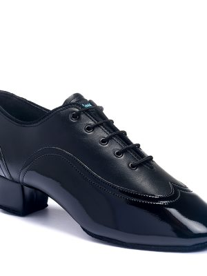 Мужская латина - турнирные International JONES - BLACK CALF/BLACK PATENT
