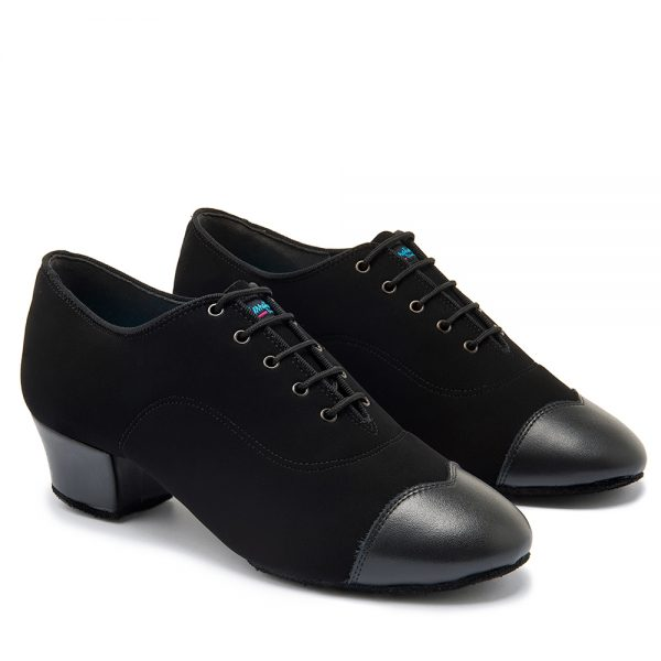 RUMBA DUO - BLACK NUBUCK/BLACK CALF