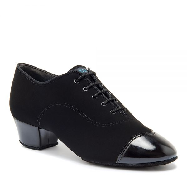 Мужская латина - турнирные International RUMBA DUO - BLACK NUBUCK/BLACK PATENT